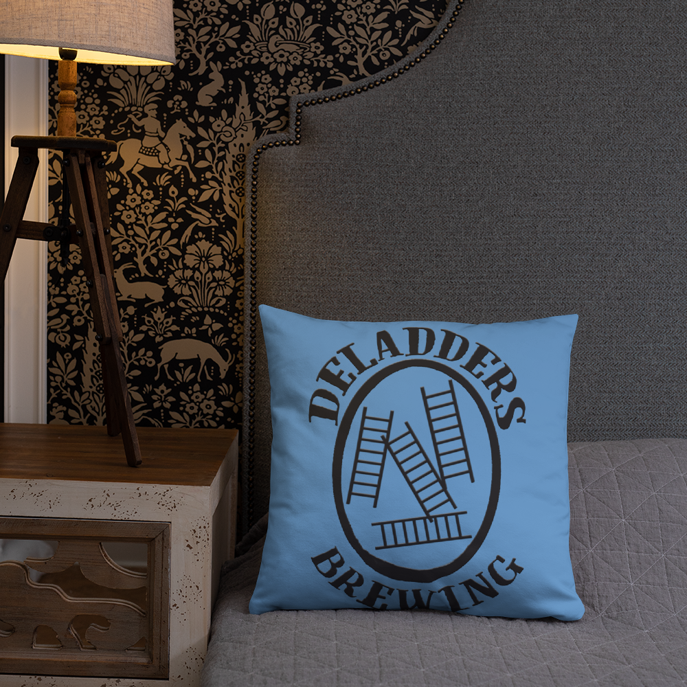 Image of HAD/Deladders Logo Throw Pillow