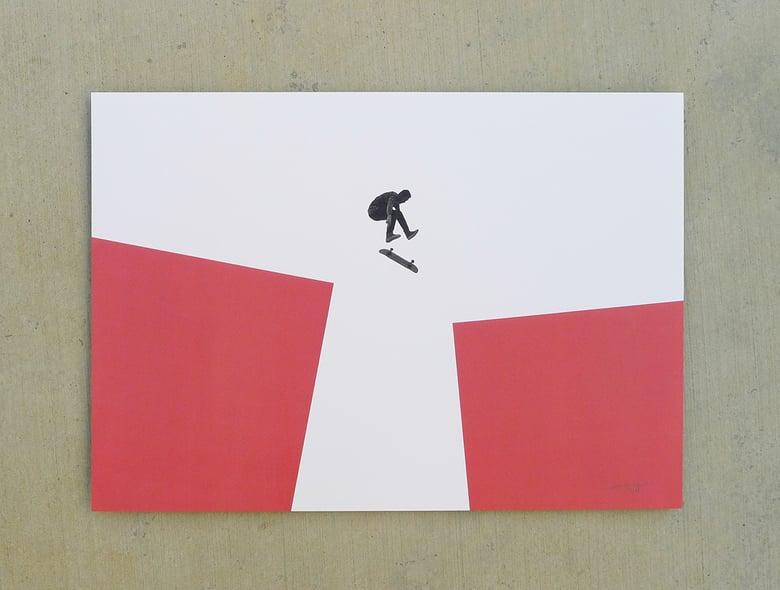 Image of 'redGAP' print