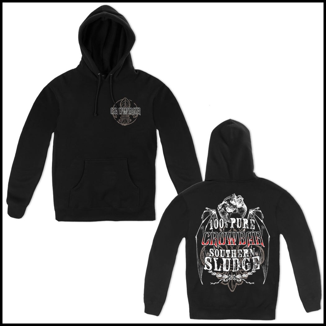 Image of CROWBAR 100% PURE PULLOVER HOODED SWEATSHIRT