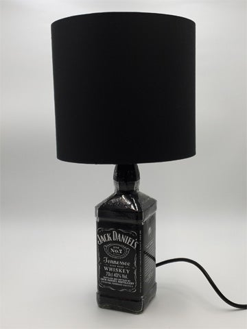Image of BLACK Jack Daniel's Bottle Lamp Deal