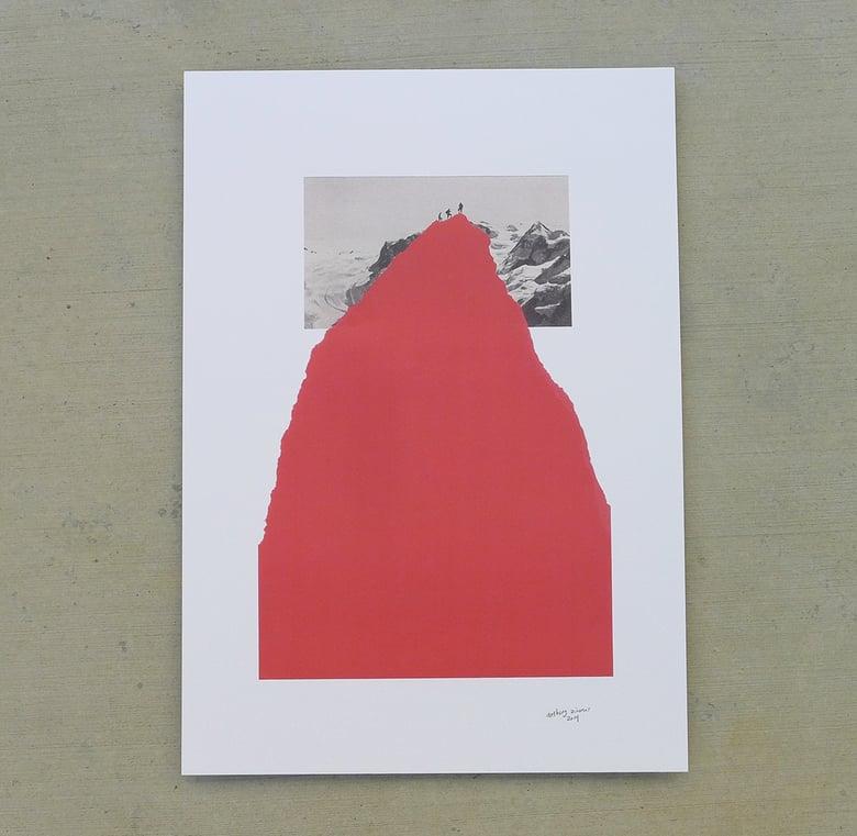 Image of 'redSUMMIT' print