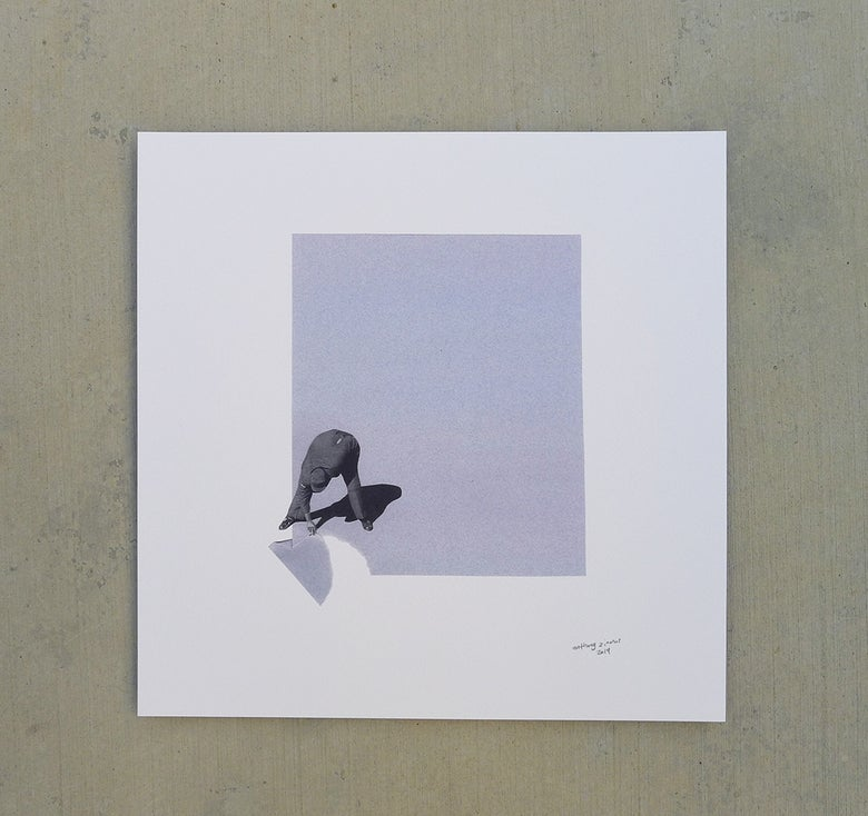 Image of 'cuttingCORNERS' print