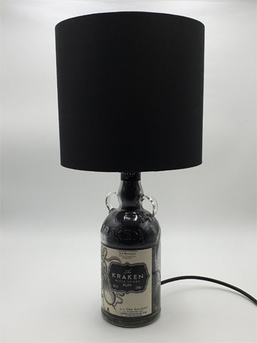 Image of BLACK Kraken Rum Bottle Lamp Deal