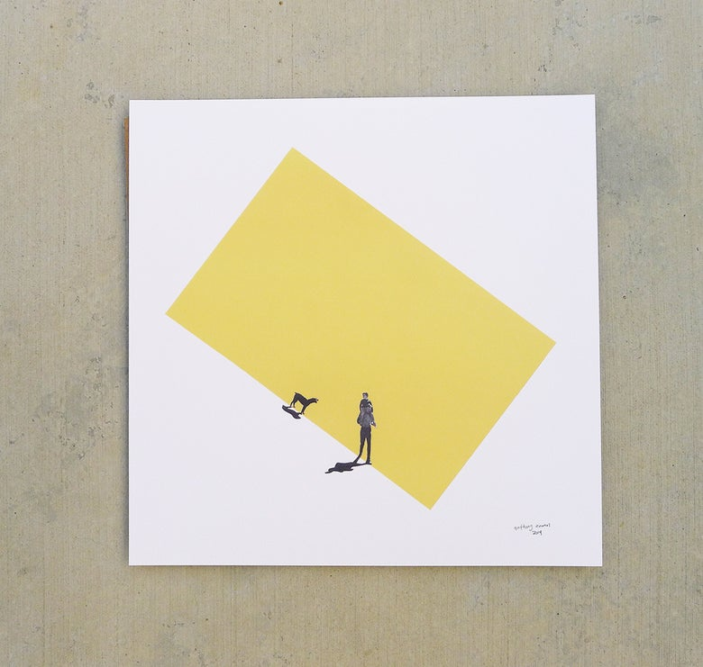 Image of 'outFORaWALK' print