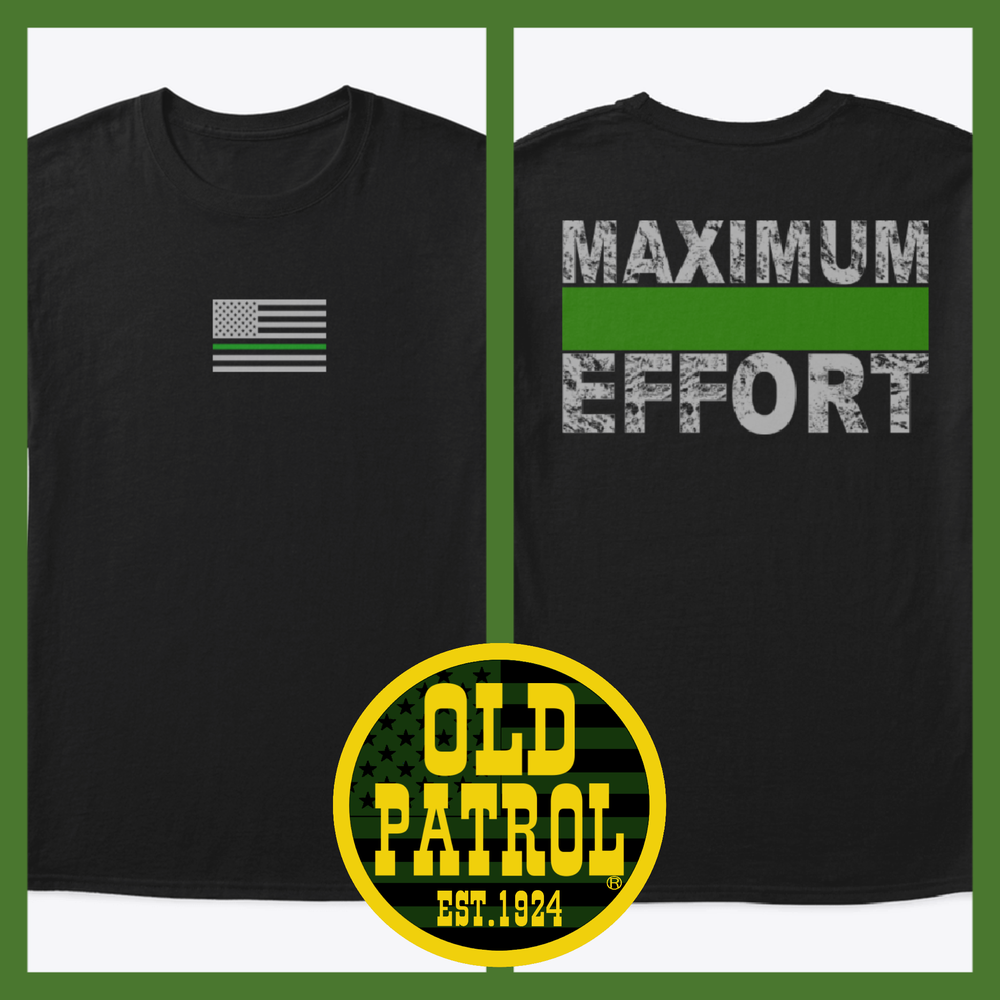 Image of MAXIMUM EFFORT ~ GREEN LINE (PRICE INCLUDES SHIPPING)
