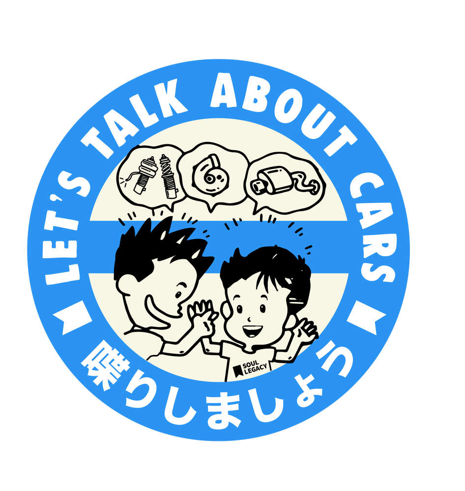 "Image of Soul Legacy ""Let's Talk"" Decal"