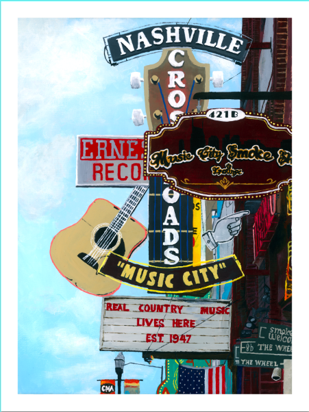 Image of Broadway in Nashville (3rd edition)