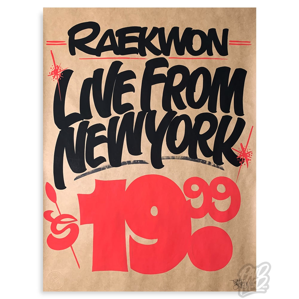 Image of Raekwon - Live from New York