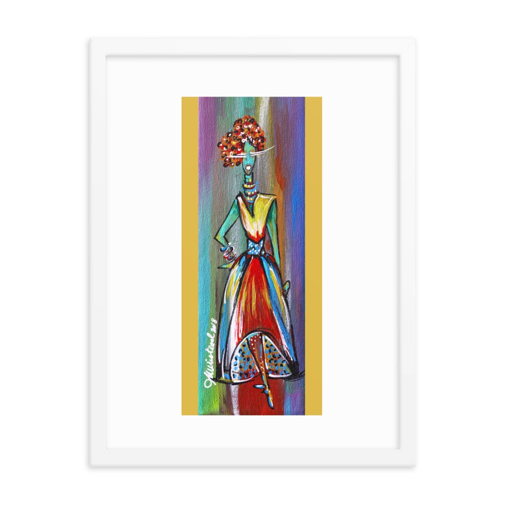 "Image of ""Diva"" Fine Art Poster"
