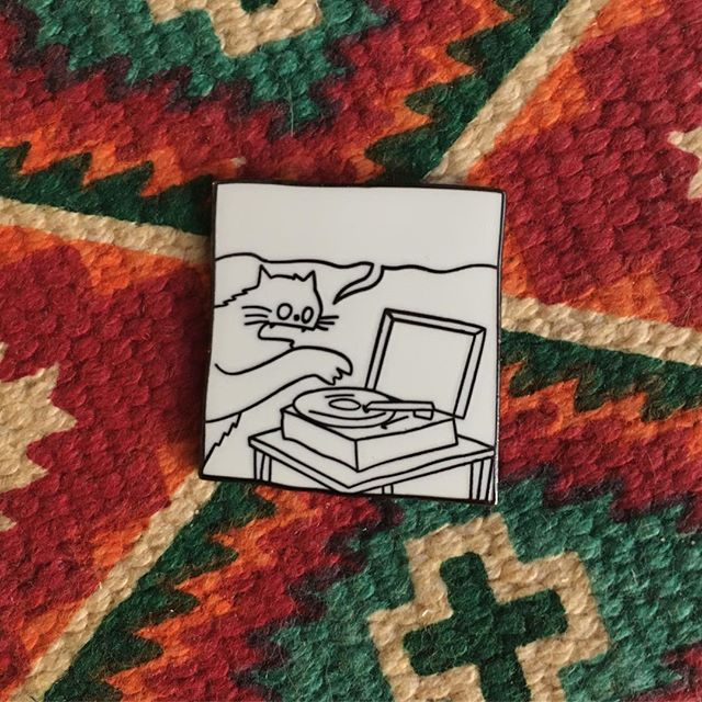Image of Record - Enamel Pin