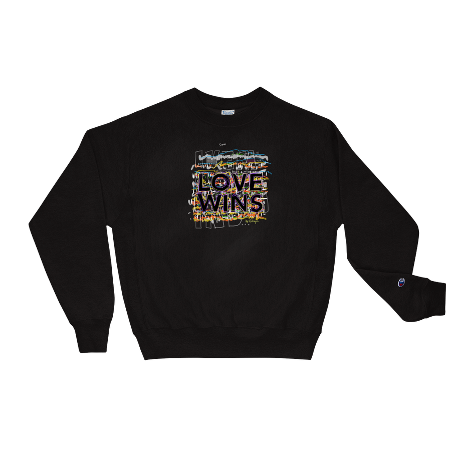 Image of LOVE WINS - Champion Sweat Shirt