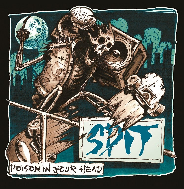 "Image of SPIT - ""Poison In Your Head"" LP (Marble)"