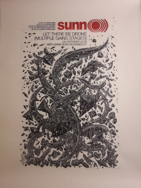 Image of Sunn O))) 'Words Rain Down' Artist's Edition