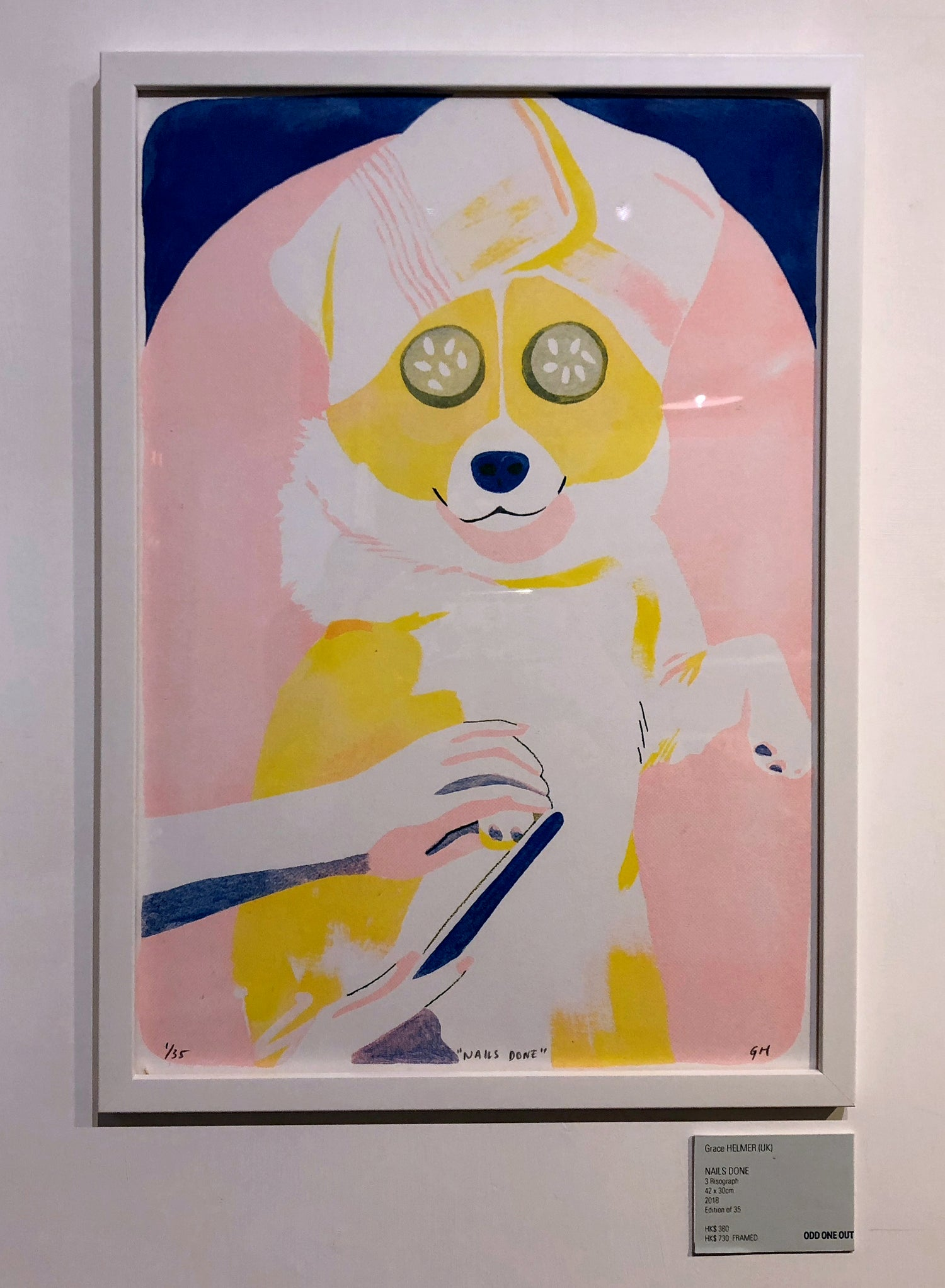 Image of DOG SHOW riso prints