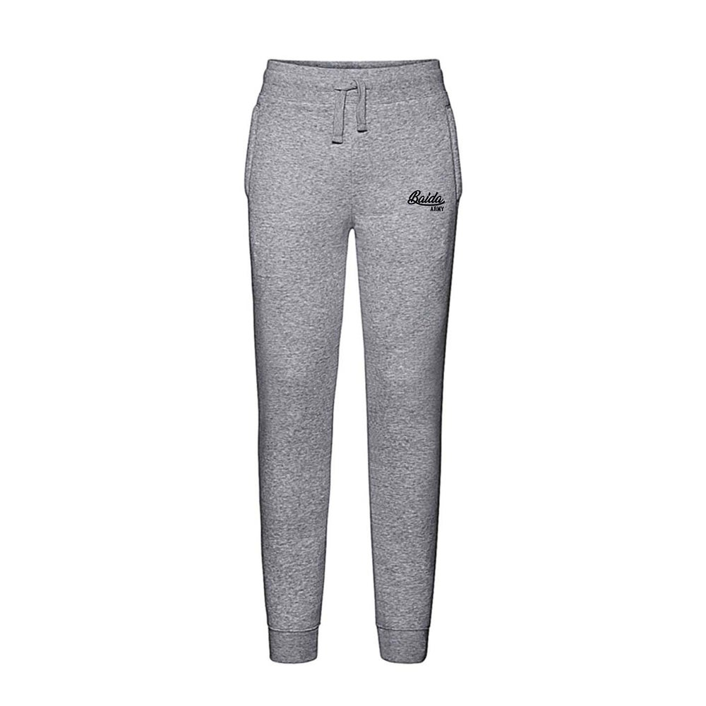 Image of Baida Army - Grey Sweatpants Logo