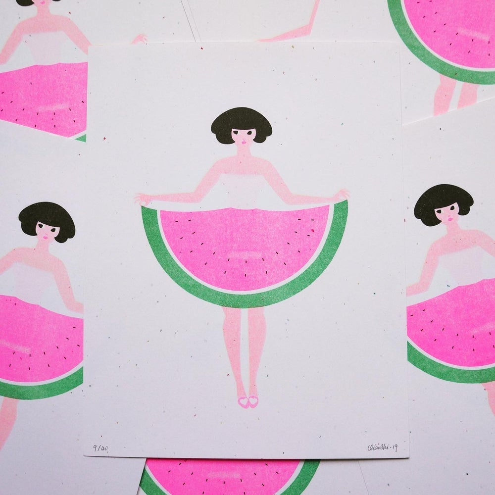Image of [Riso] Watermelon lady