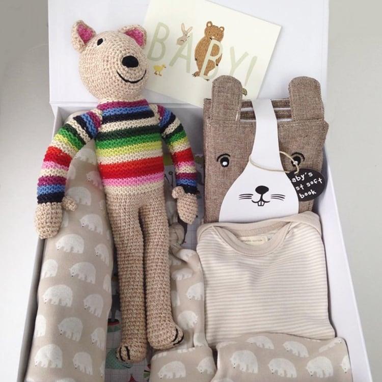 Image of Neutral Organic Baby Bear Box