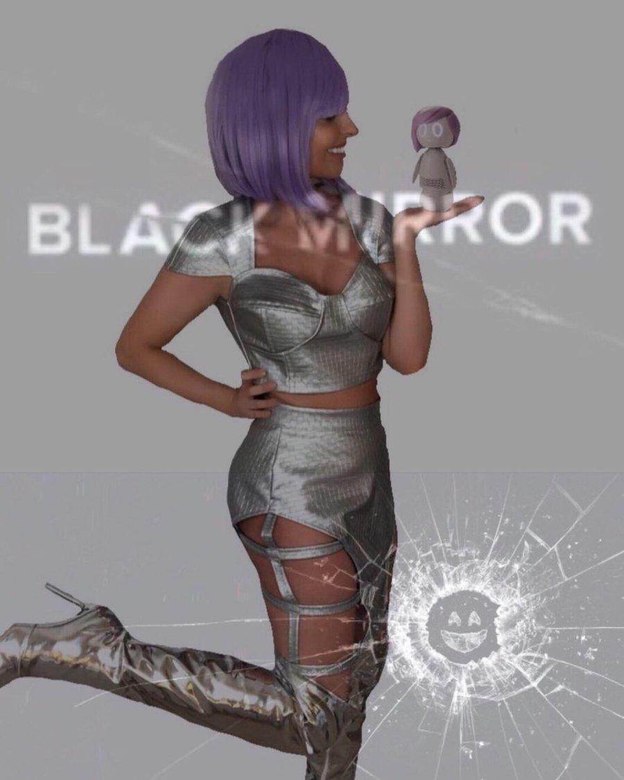 Image of Ashley O Black Mirror Costume