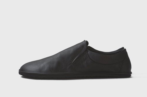 Image of Slip-On Sneakers in Matte Black