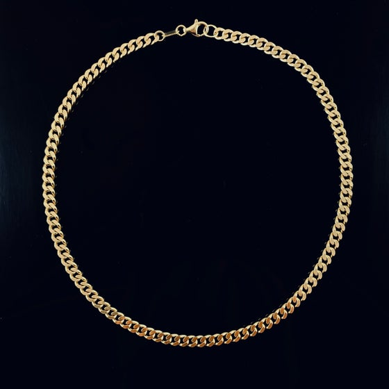 Image of Alba Necklace / 24k gold-coated silver