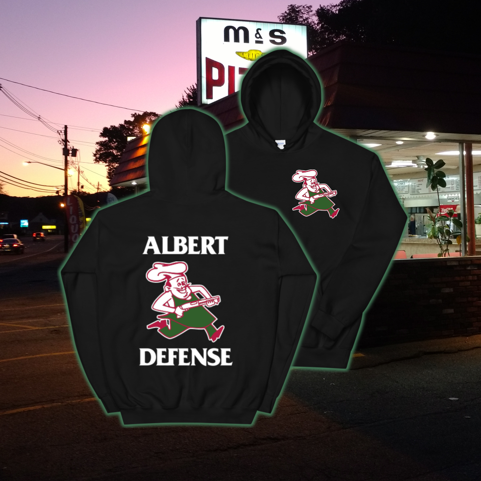 Image of Defend Pizza Hoodie