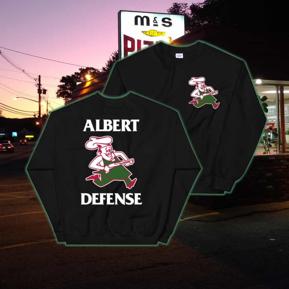 Image of Defend Pizza Crewneck