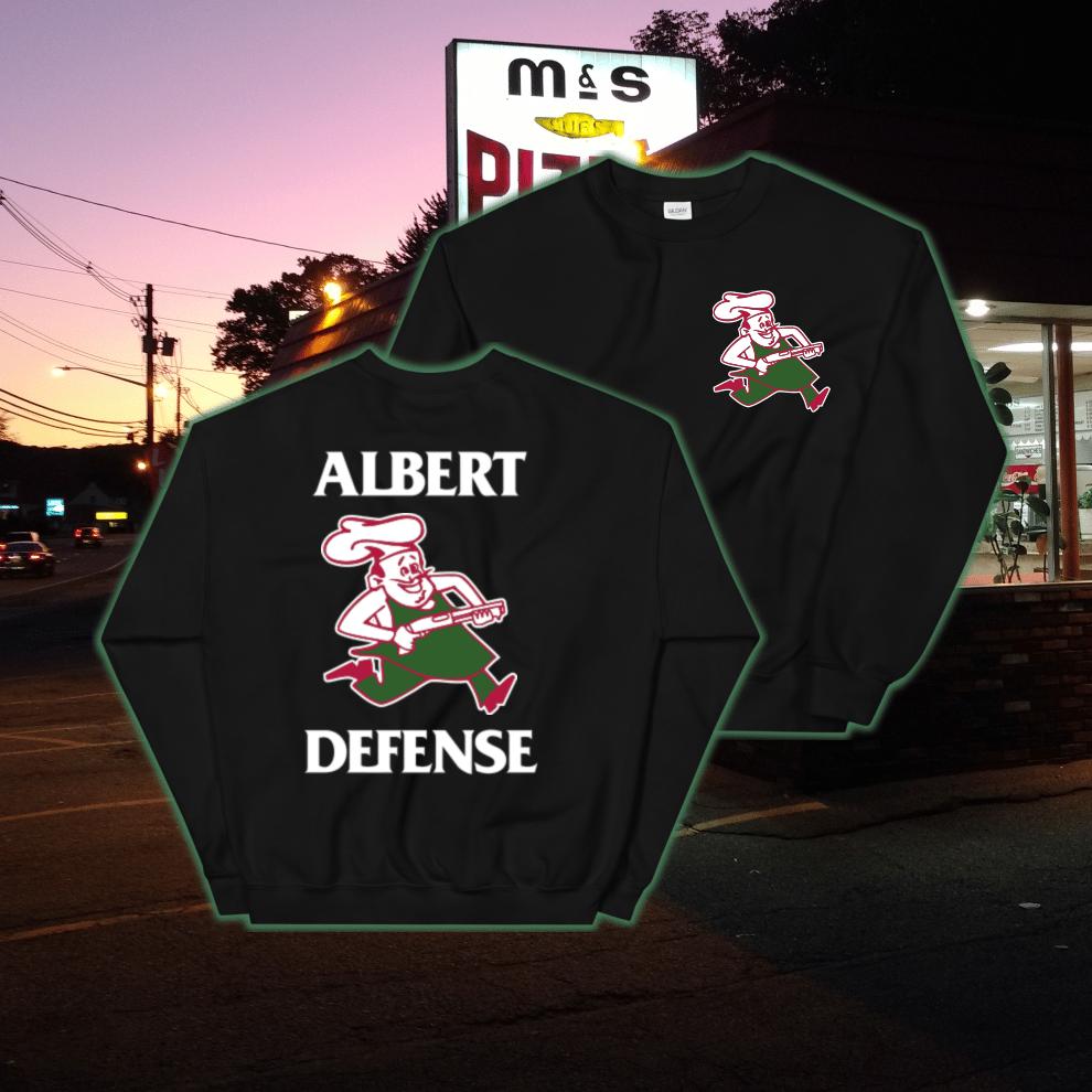 Image of Defend Pizza Crewneck
