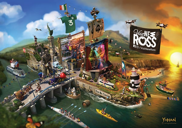 Image of New Ross Poster
