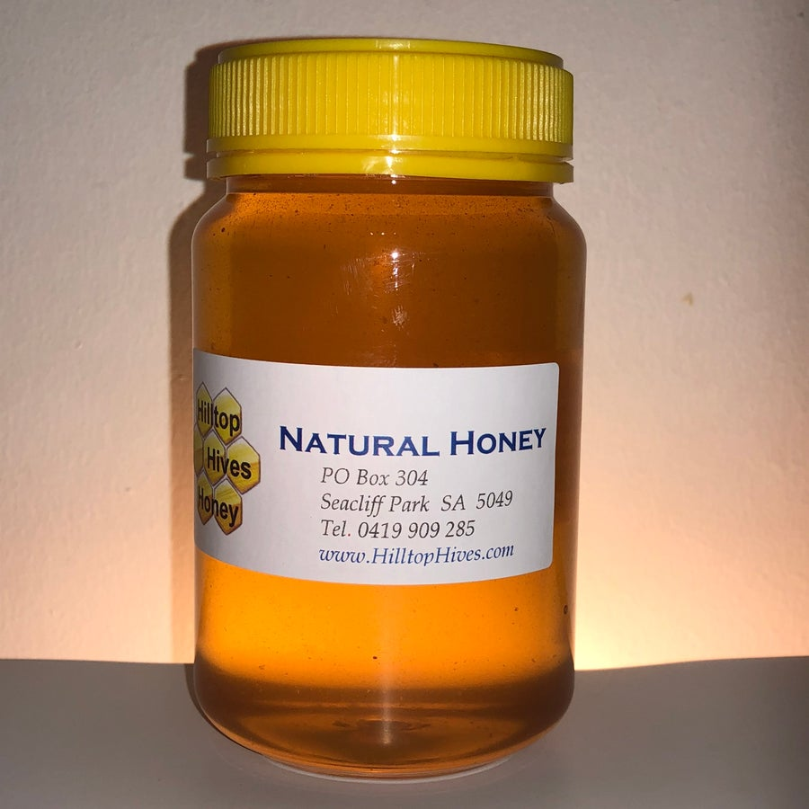 Image of Honey 500 grams of Pure unfiltered raw Natural Honey from Adelaide Hills, South Australia