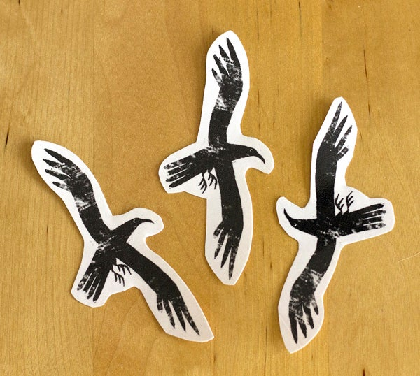 Image of Temporary tattoo – Raven