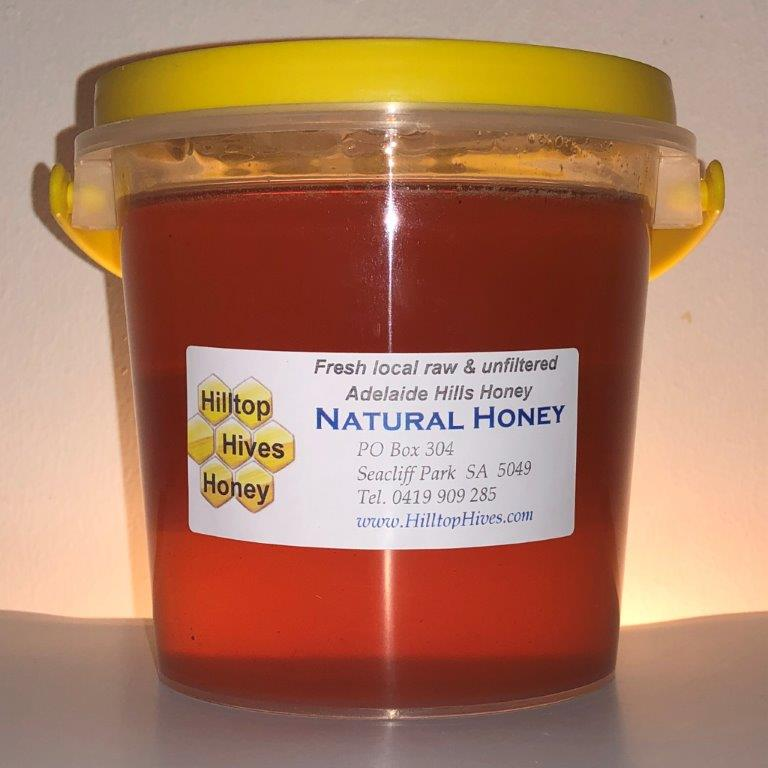Image of Honey 1kg of Pure unfiltered raw Natural Honey from Adelaide Hills, South Australia