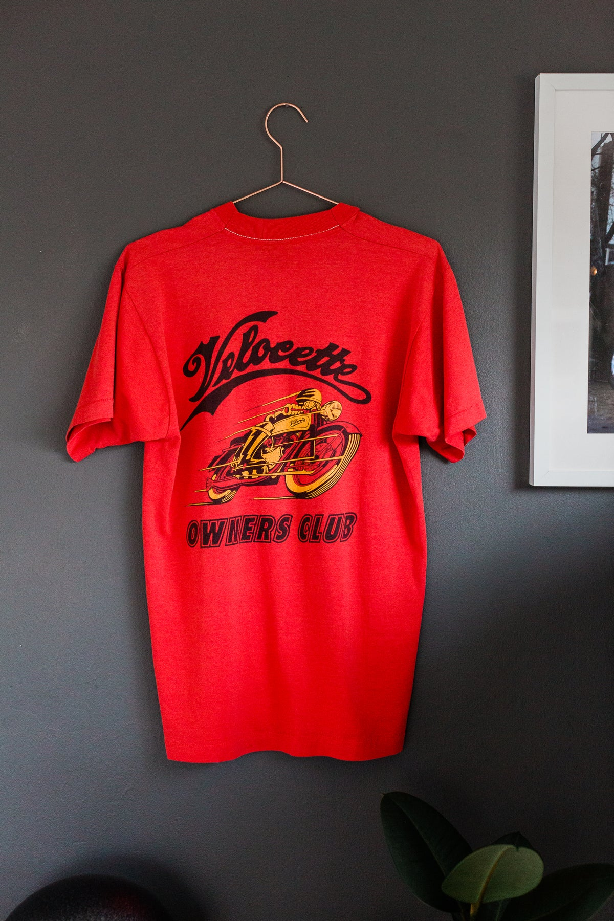 Image of 80s Motorcycle Velocette Tee