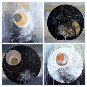 Image of Set of 4 greeting cards - The Solstice Series