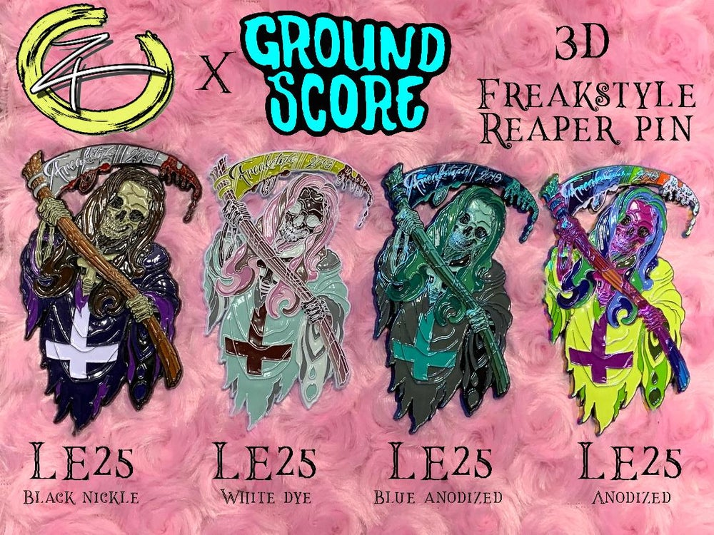 Image of Z4 - Freakstyle Reaper 3D Pins