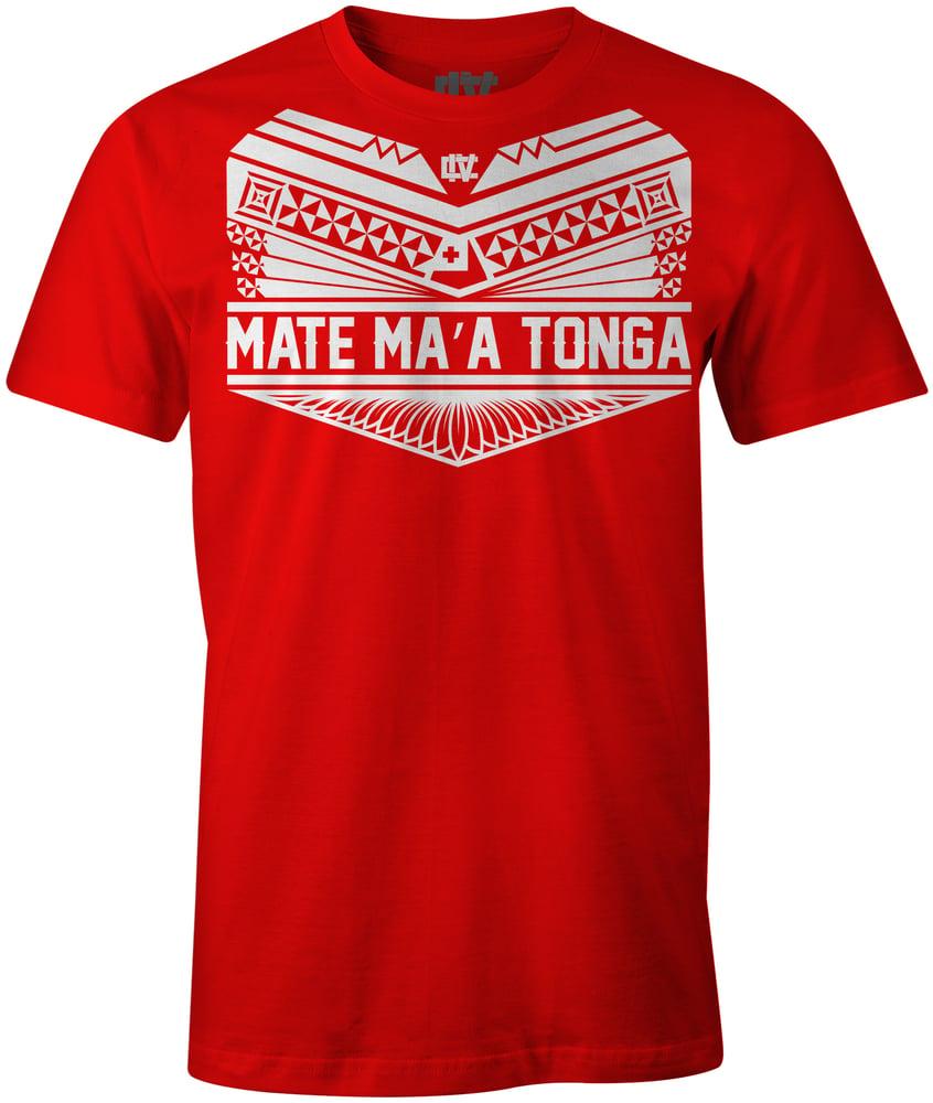 Image of Kau To'a / Mate Ma'a Tonga - Tshirt