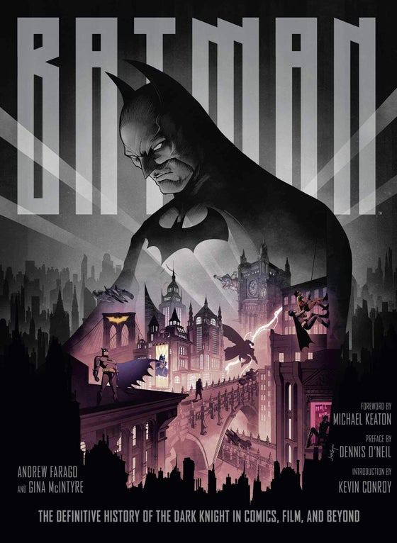 Image of SIGNED BOOK: Batman: The Definitive History of the Dark Knight in Comics, Film, and Beyond