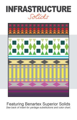 Infrastructure Paper Quilt Pattern by Christa Watson (CQ125)