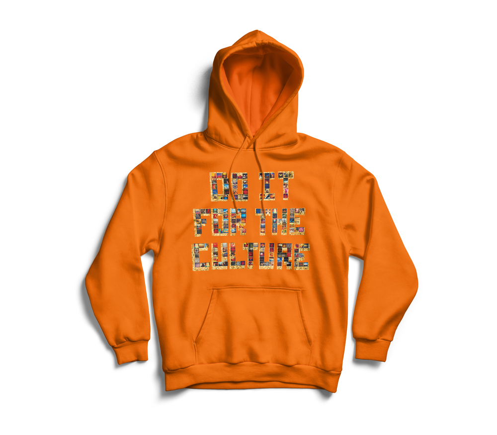 "Image of Orange ""Championship"" Hoodie"