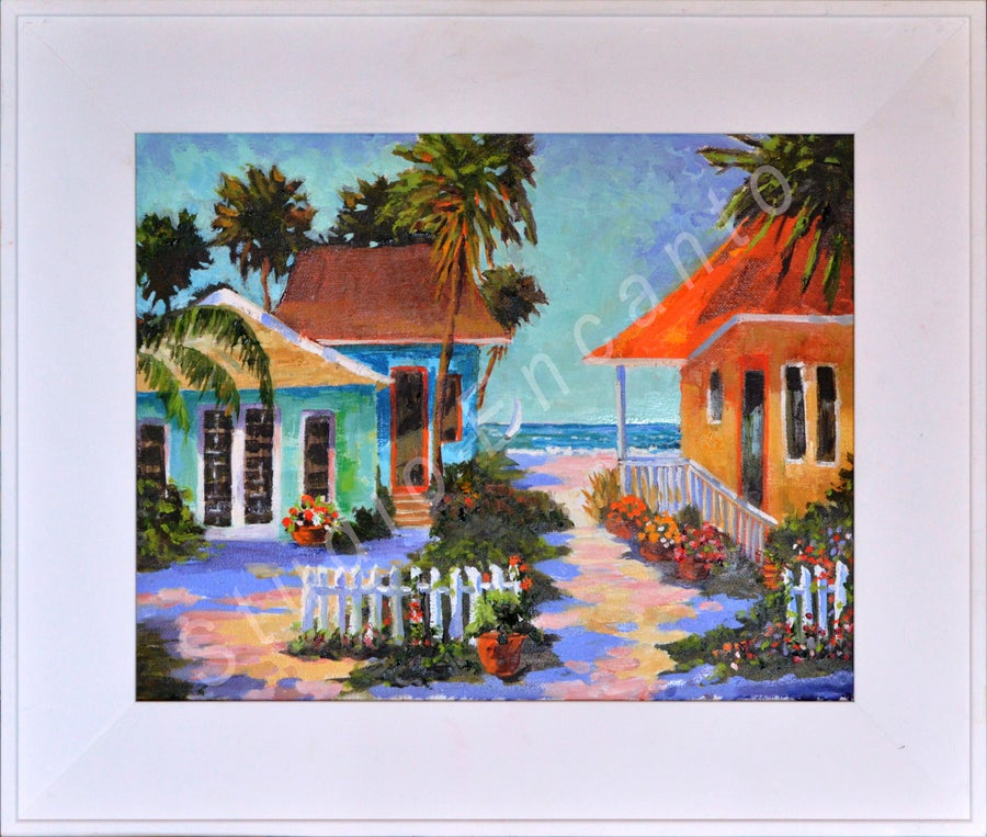 Image of Heaven Kiss Cottages by Mary Rose Holmes