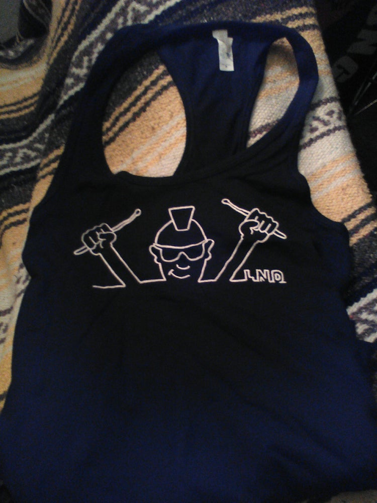 Image of Late Night Dave Tank Top Black