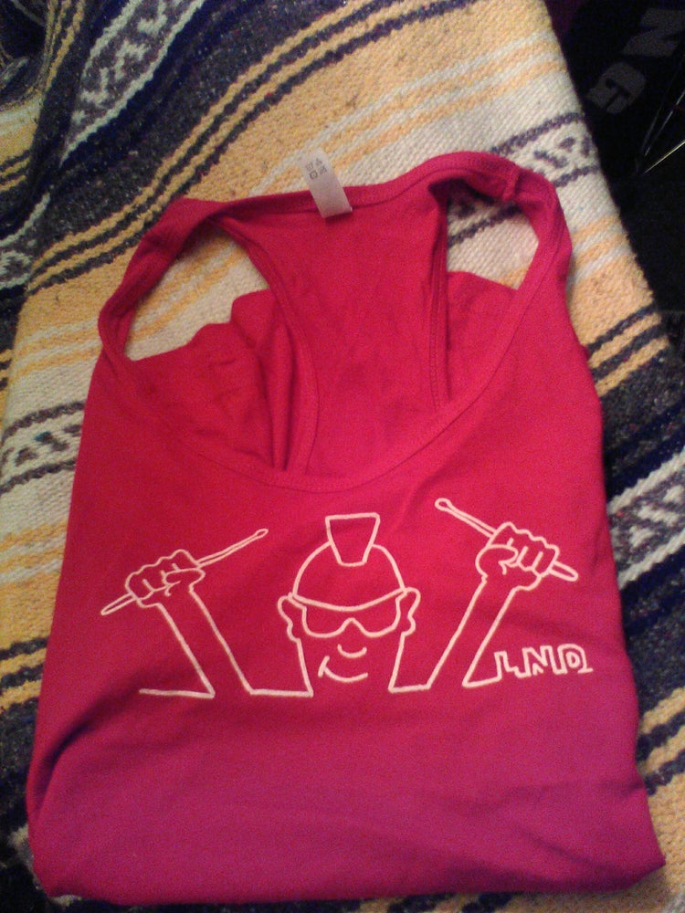 Image of Late Night Dave Tank Top Red