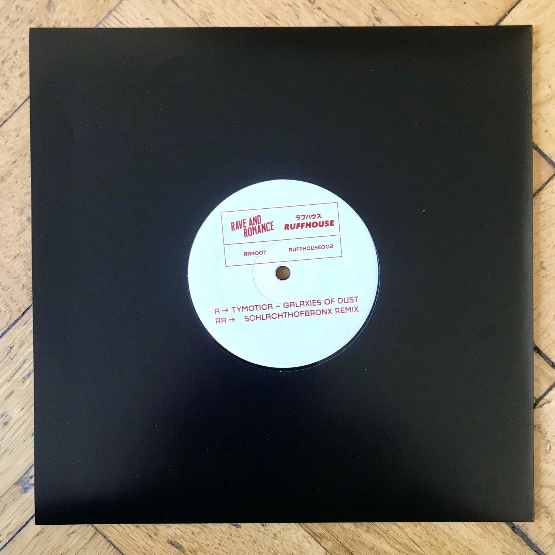 "Image of Tymotica - Galaxies of Dust (+Schlachthofbronx Remix) - 10"" Vinyl (RAR007)"
