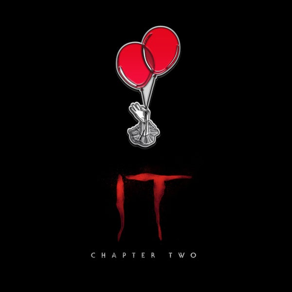 Image of IT Chapter Two balloons pin badge (officially licensed)