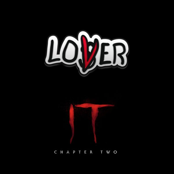 Image of IT Chapter Two Loser/Lover pin badge (officially licensed)