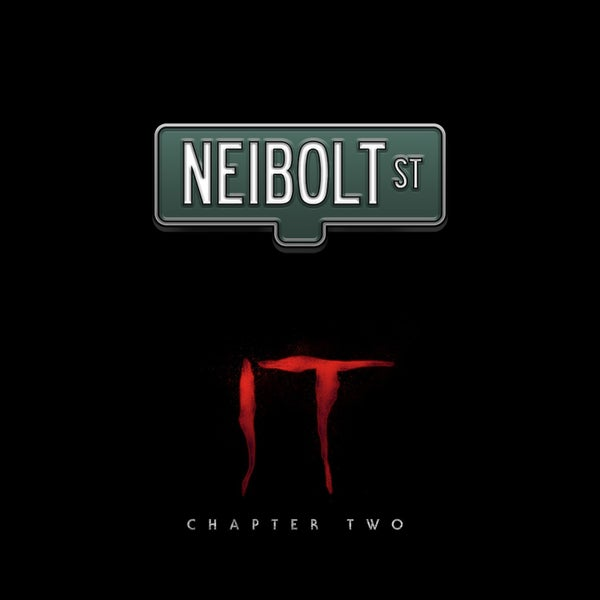 Image of IT Chapter Two Neibolt St pin badge (officially licensed)