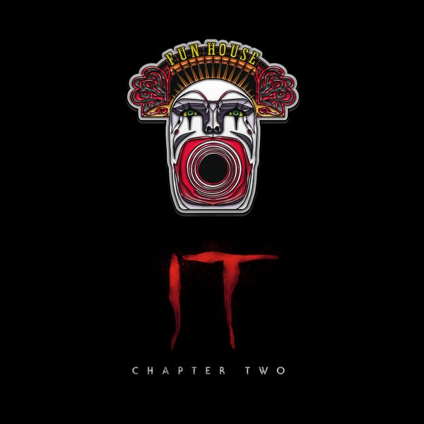 Image of IT Chapter Two Funhouse pin badge (officially licensed)