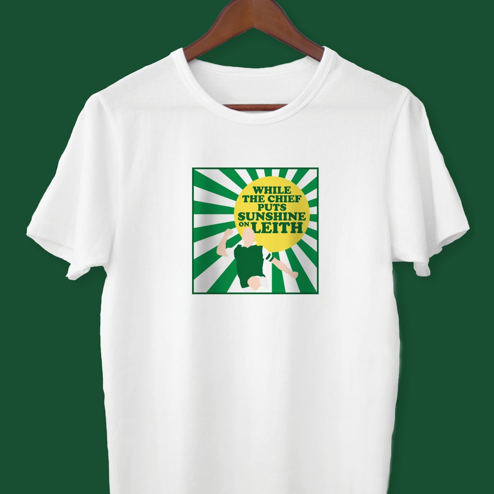 Image of Sunshine On Leith t-shirt
