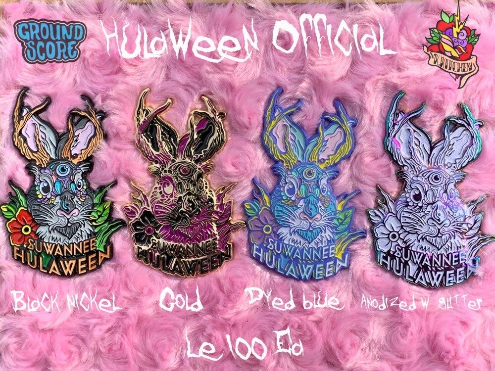 Image of Official Suwannee Hulaween 2019 'Jackelope' Pin