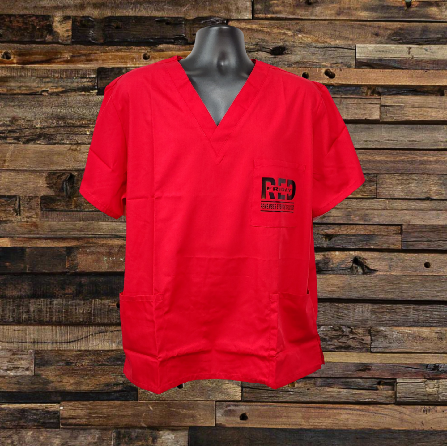 R.E.D. Scrubs Top