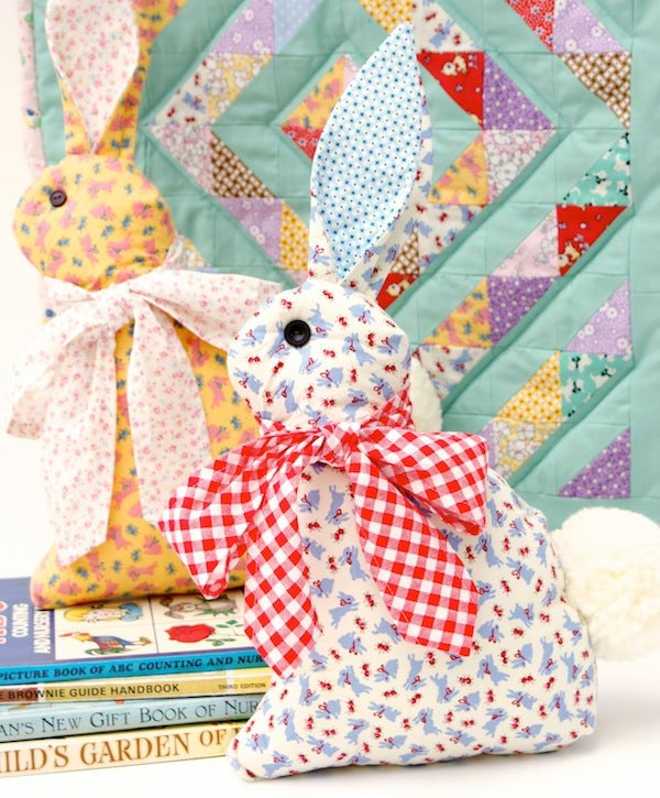Image of Modern Folksy Bunny and Kitty
